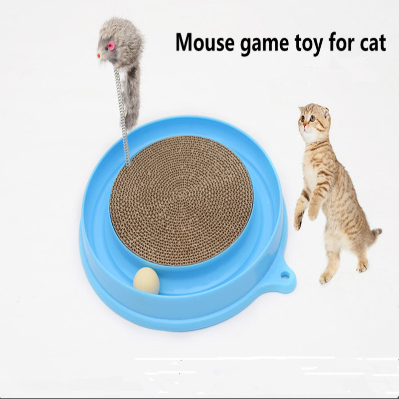 Interactive toys for cats cheap pet cat toy fidget game Mouse plastic puzzle kat speelgoed furniture for animals(China (Mainland))