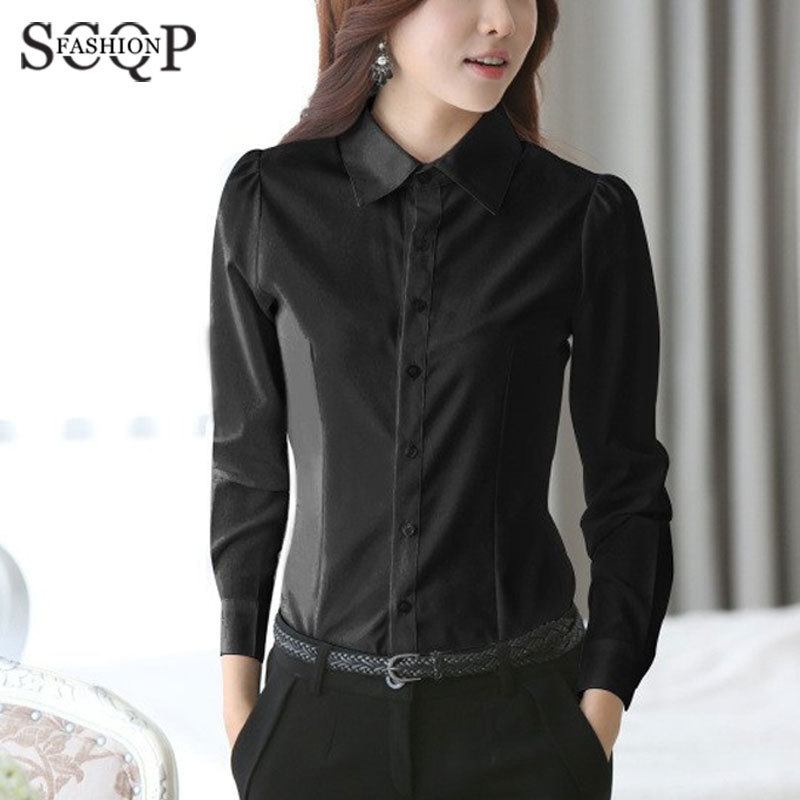 Ladies Black Shirt Blouse | Fashion Ql