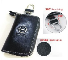 New Auto car For Opel key wallet cover shell keyrings key holders key bag keychain genuine leather car accessories Free shipping(China (Mainland))