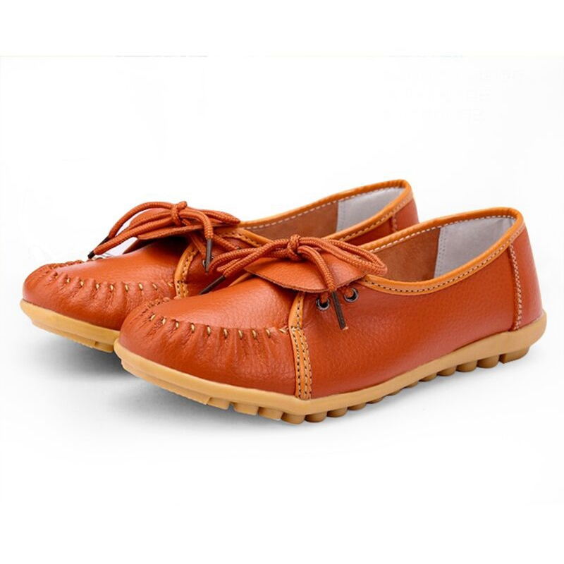 Women Casual Flats Soft Artifical Leather Solid Loafers 4 Colors Drop Shipping XWD2548(China (Mainland))