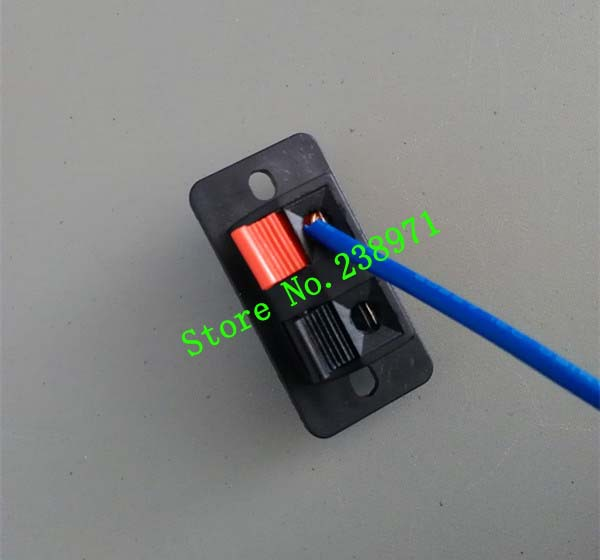 2P Power panel speakers wire clip audio The connector Press type terminal(China (Mainland))