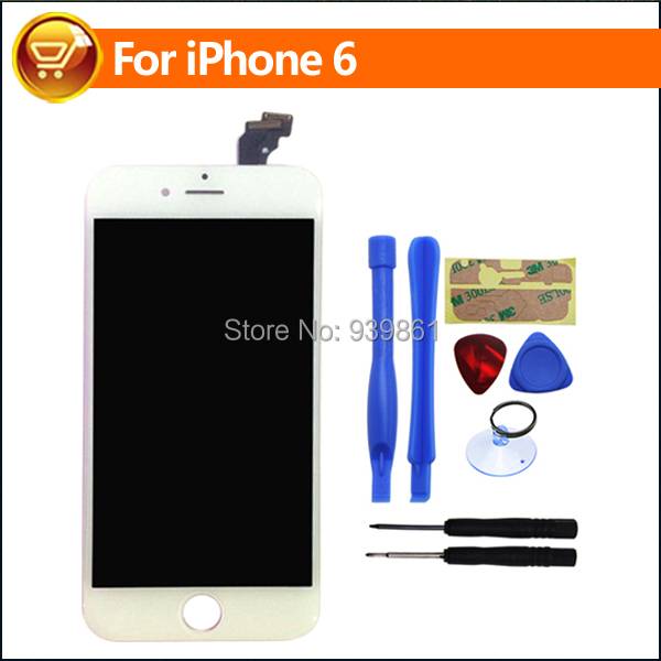 100% Guarantee 4.7 inch Official Original New LCD Display Screen For iPhone 6 LCD Touch Screen Digitizer Assembly,Free Shipping