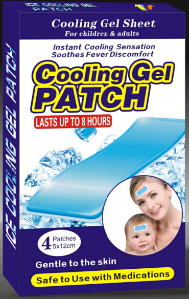 Baby fever reducer patches