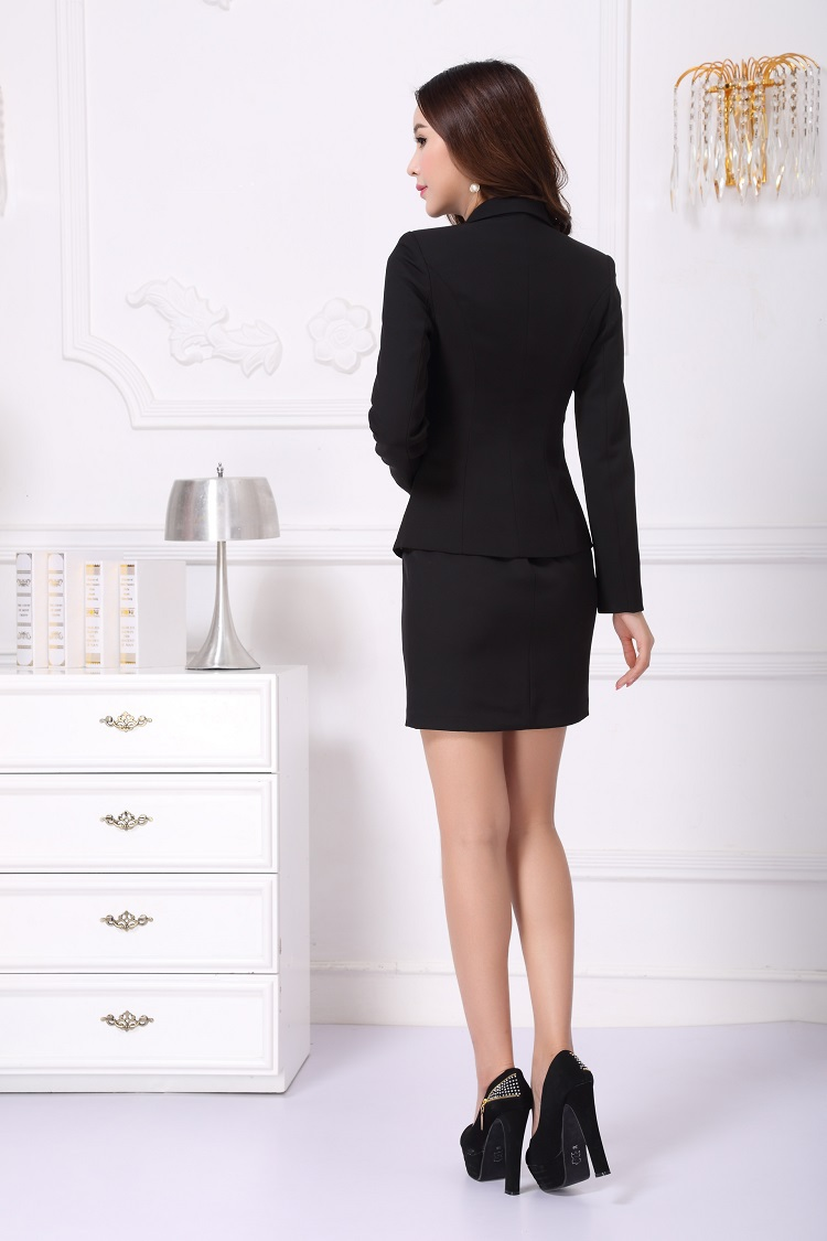 New 2015 spring autumn formal ladies office uniform design for Office uniform design 2015