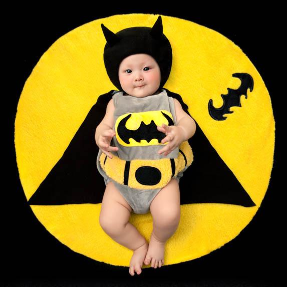 2014 NEW Toddler Boy Girl Baby Costume Batman Taking Photography Props Knit Crochet DEG