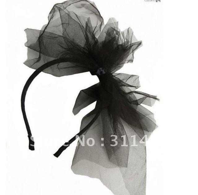 fashion lady gaga lace,rabit ear veil mask, party headwear,hair accessory
