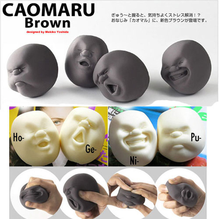Creative Gift Doll Face Ball Vent Funny Toy Vent Human Face Ball Decompression Practical Jokes(China (Mainland))
