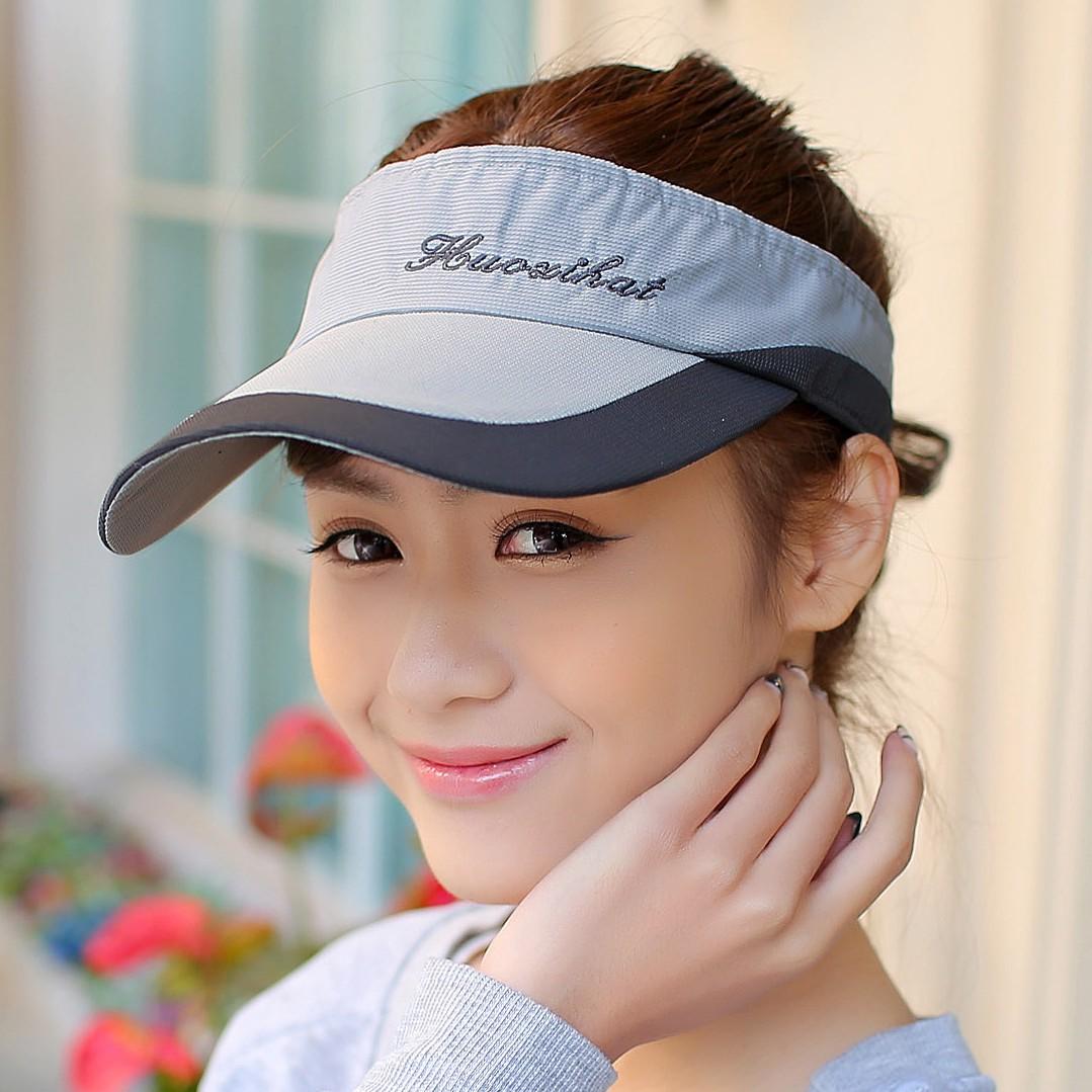 Summer outdoor male women's sports tennis ball cap crownless sunbonnet sun hat baseball cap visor(China (Mainland))