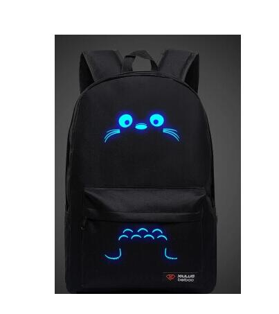 Hot-selling! schoolbag Totoro cartoon candy color bag and backpack bag computer bag couple middle school students shoulder bag(China (Mainland))