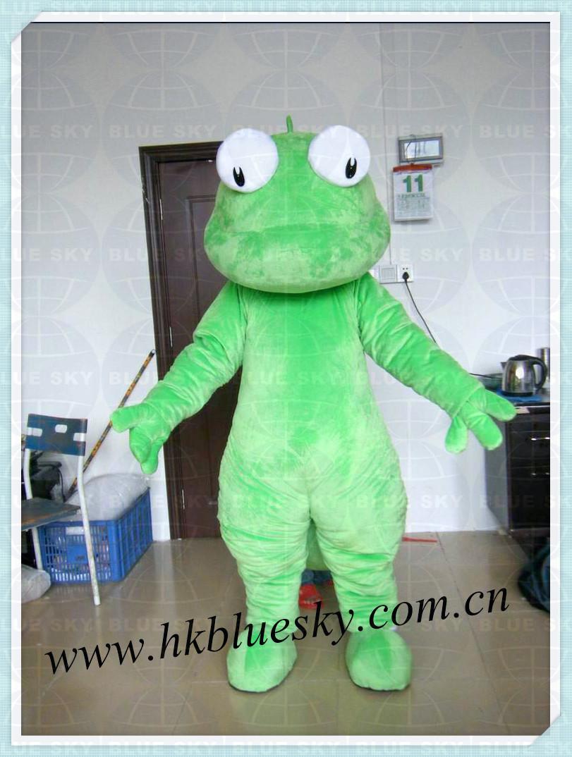 Kids Lizard Costume Lizard Mascot Costume For