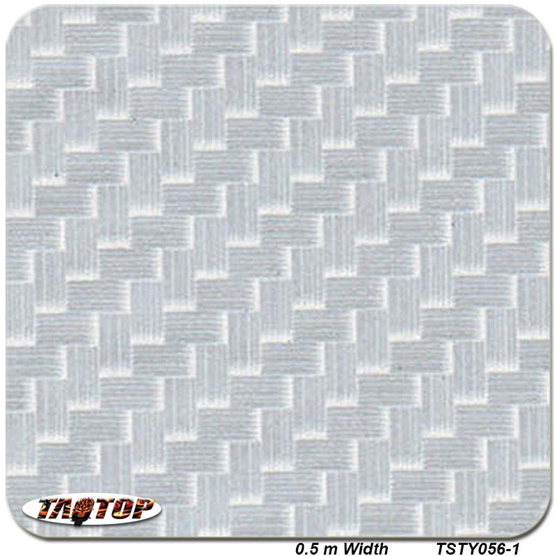 TSTY056-1 Silver Transparent Carbon Fiber Design Pattern 0.5m *2m Hydrographic Film PVA Water Transfer Printing Film(China (Mainland))