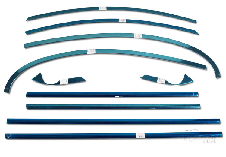 New Stainless Steel Full Window Trim Decoration Strips For Geely Emgrand Sedan 2011 2012 2013 2014 Car Styling OEM-10-16