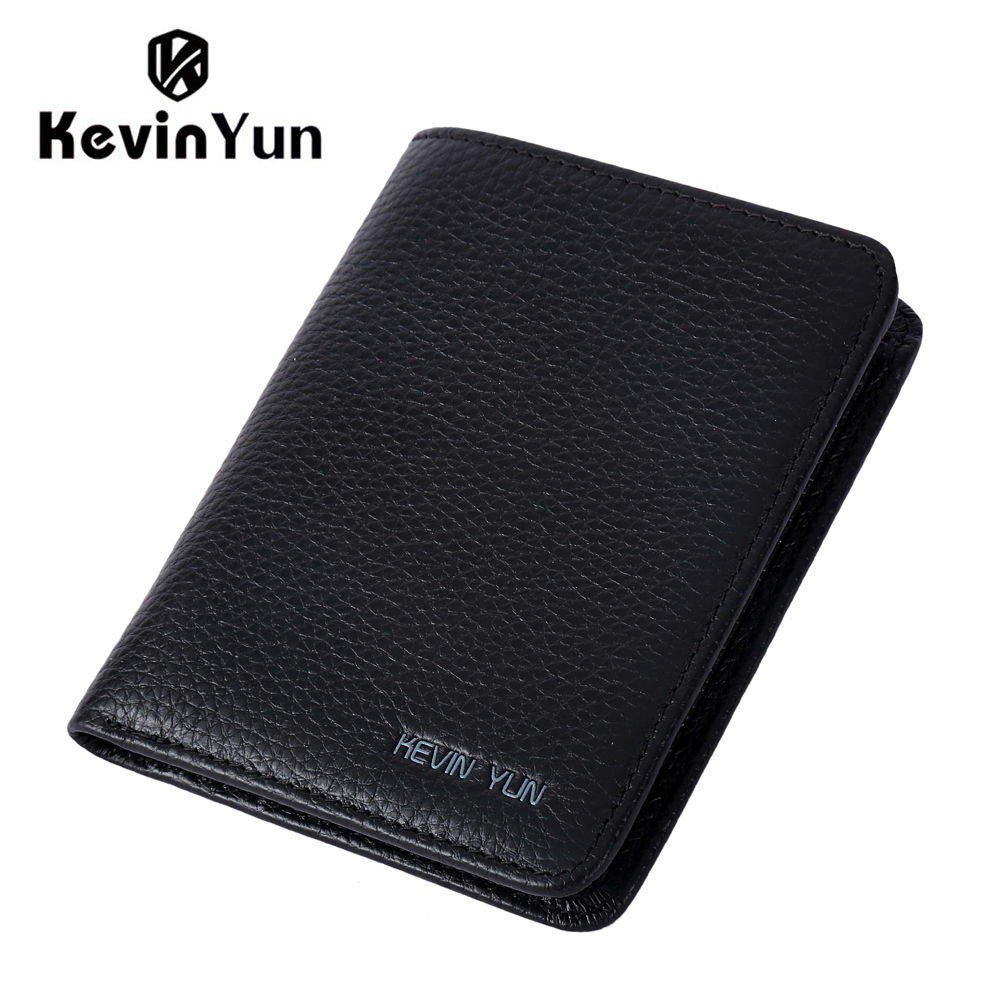 KEVIN YUN Designer Brand Men Wallets Genuine Leather Purse Wallet Luxury Male Small Pocket Wallet(China (Mainland))