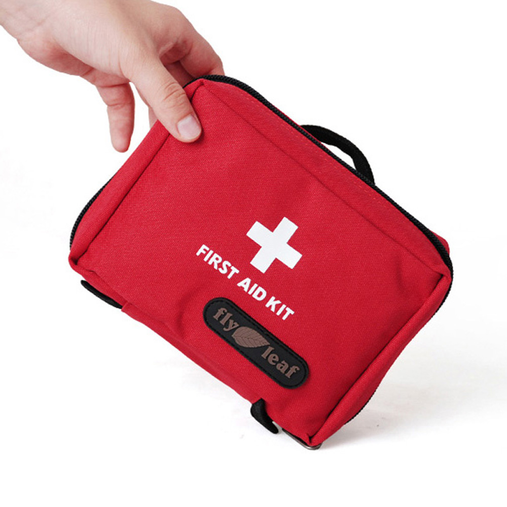 Outdoor First Aid Bag Camping Emergency Bag Medical Kits Drug Storage Organizer Case Travel Finishing Bag(China (Mainland))