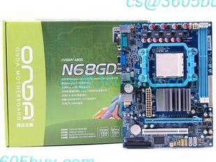 Onda N68GD3 DDR3 AMD Dual Quad Core motherboard integrated graphics with IDE/PCI-E(China (Mainland))