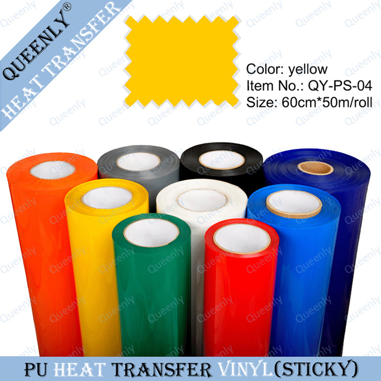 Heat Press thermal transfer Flexible T-Shirt Vinyl 60cm*50m/roll(China (Mainland))