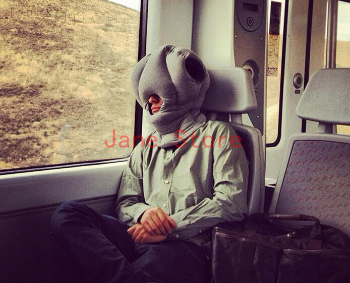 2015 new hot sale British magical ostrich pillow protect Neck Support Office nap pillow Travel Pillow