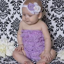 Baby Lace Ruffle Romper Summer Style Baby Kids Ivory Onesie Newborn Jumpsuit