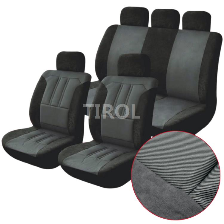 TIROL T22556a Hot Sale Universal Car Seat Cover 9Pcs Set