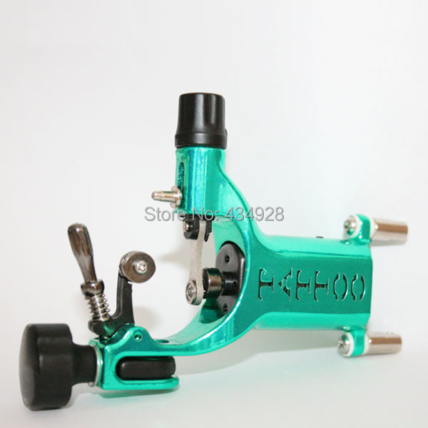 Pro rotary tattoo machine light and quiet FREE SHIPPING good quality Green(China (Mainland))