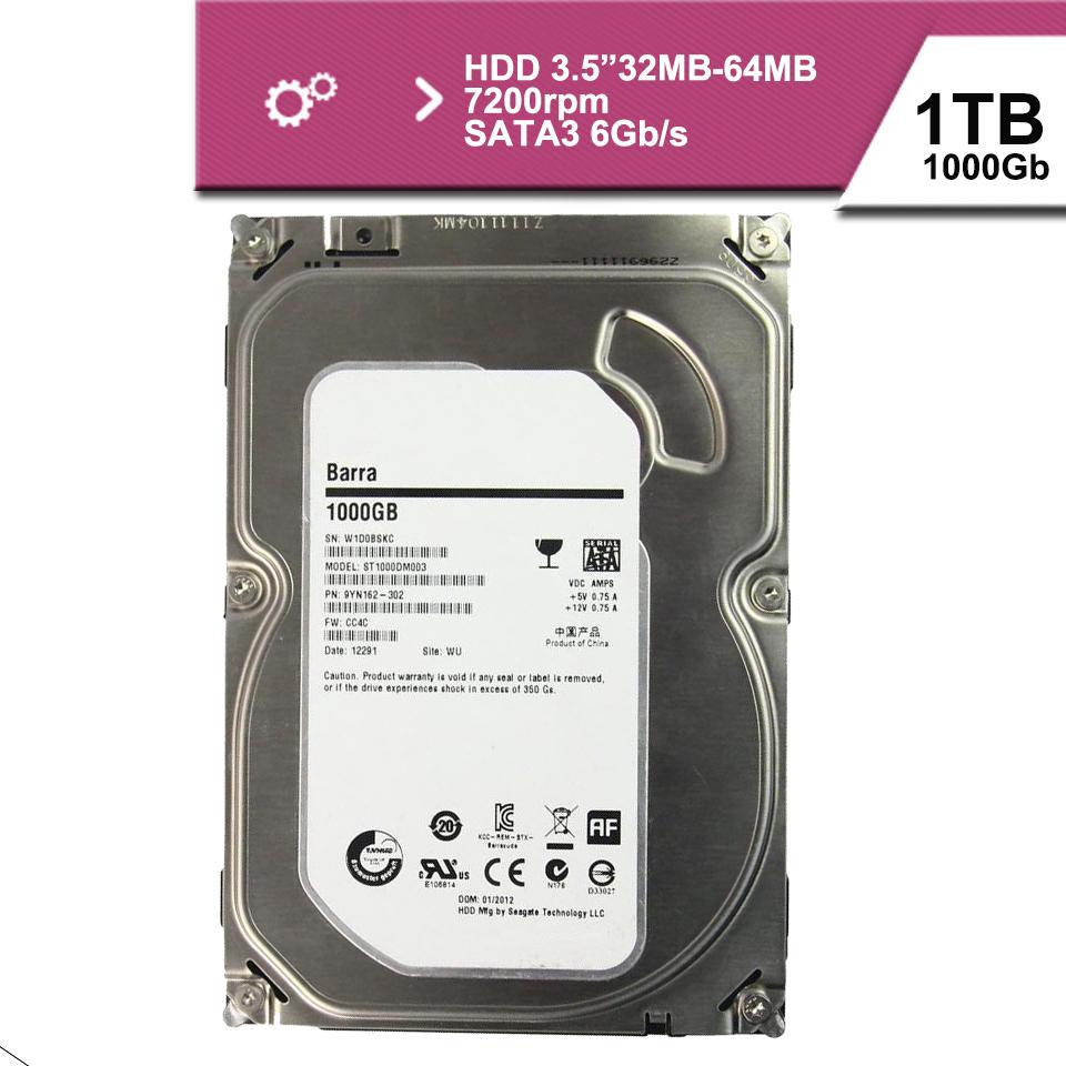 """New seal 3.5 """"1 tb sata3 6GB/s hdd hard disk drive 32mb 7200rpm(China (Mainland))"""