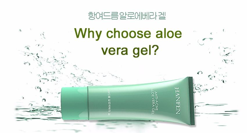Her name acne remove sun repair Aloe vera gel face multi-effect Moisturizing soothing day cream skin care korean cosmetics