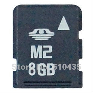 Wholesale M2 memory card 8GB full capacity MOQ 1pc Free shipping(China (Mainland))