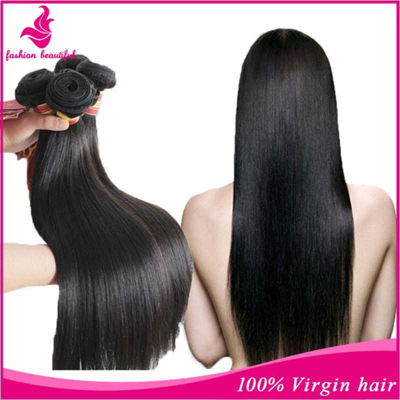 Malaysian Virgin Hair Straight 3 Pcs Rosa Hair Products Malaysian Straight Remy Human Hair Weave Free Shipping Natural Black(China (Mainland))