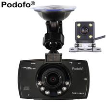 Car Camera Dual Lens 1080P Video Recorder Car DVRs Registrator With WDR Rear Back Car Camera Night Vision Black Box Dash Cam G30(China (Mainland))