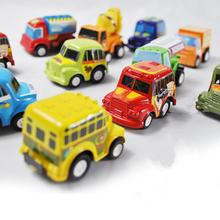 6Pcs Kids Mini Pull Back Model Car Toys Vehicle Sets Educational Toys(China (Mainland))