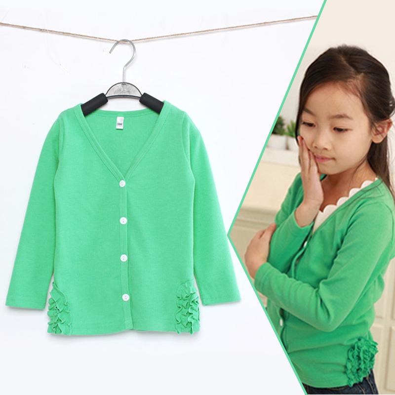 Girls sweater casaco menina new spring kids Brand cardigan outerwear coats children's knitwear casaco infantil menina jackets(China (Mainland))