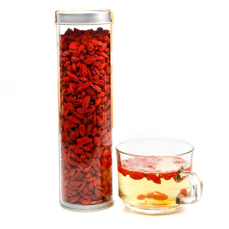 Ningxia Zhongning hot sale top grade medlar 500g dried Goji Berry for sex Nutritious green health