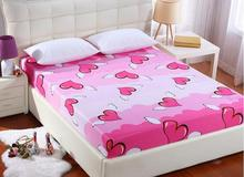 Oversize 220X200cm  rushed With elastic band 360 sheet cover  cottonbed linen thicker bedding enterprise protective bedspreads(China (Mainland))