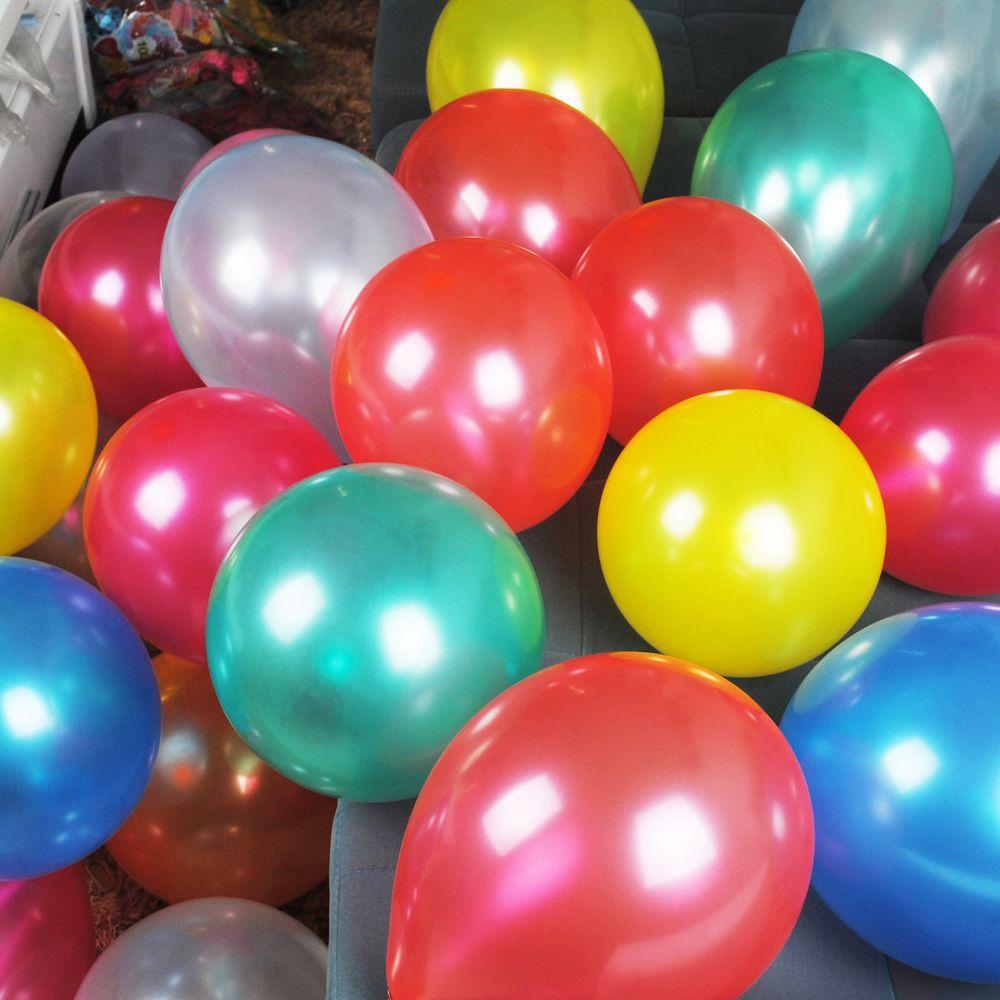 New 100pcs/lot 1.5g/pcs Latex Balloon Helium Thickening Pearl Celebration Party Wedding Birthday Balloon(China (Mainland))