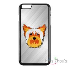 For iphone 4/4s 5/5s 5c SE 6/6s plus ipod touch 4/5/6 back skins mobile cellphone cases cover Yorkshire terrier Face