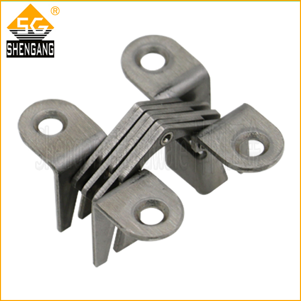 180 degree stainless steel soss concealed hinges - Shengang Hardware store
