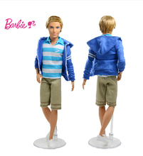 Original Genuine Brand Barbie Doll BFW77 Barbie Life in The Dreamhouse Ken Doll Playset Joint Body New Year Gift Free Shipping(China (Mainland))