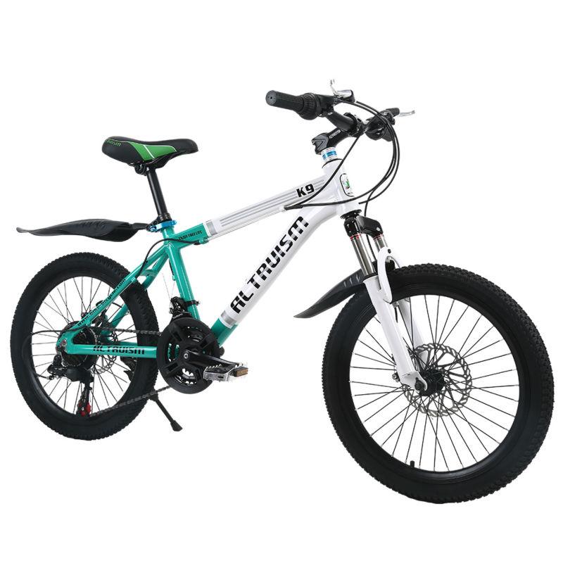 ALTRUISM K9 20 Inch 21 Speed Mountain Bike Bicycles Child Aluminum Double Disc Brake Bike Children Bicycle Kid Bikes(China (Mainland))