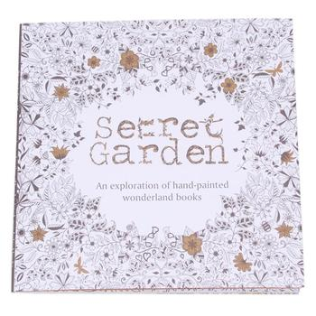 Снять стресс для детей взрослых живопись рисунок 20 страницы секретный сад убийство срок книжка-раскраска 874028