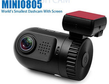 Newest Ambarella A7LA50D Super HD 1296P Mini 0805 Dash Car DVR Camera With GPS(China (Mainland))