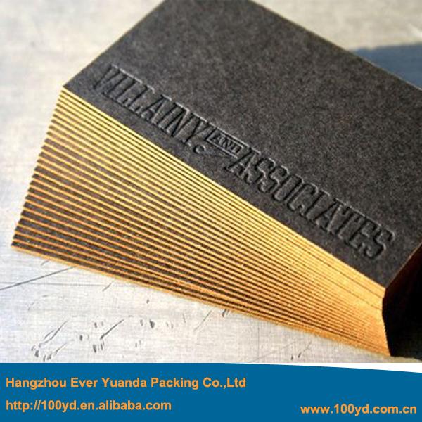 Popular Gold Edge Business Card Buy Cheap Gold Edge