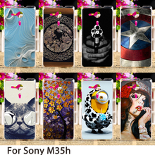 Buy Phone Cases Sony Xperia SP M35 M35h M35C C5303 C5306 C5302 4.6 inch Cases Hard Back Covers Skin Housing Sheath Hood Bags for $1.42 in AliExpress store