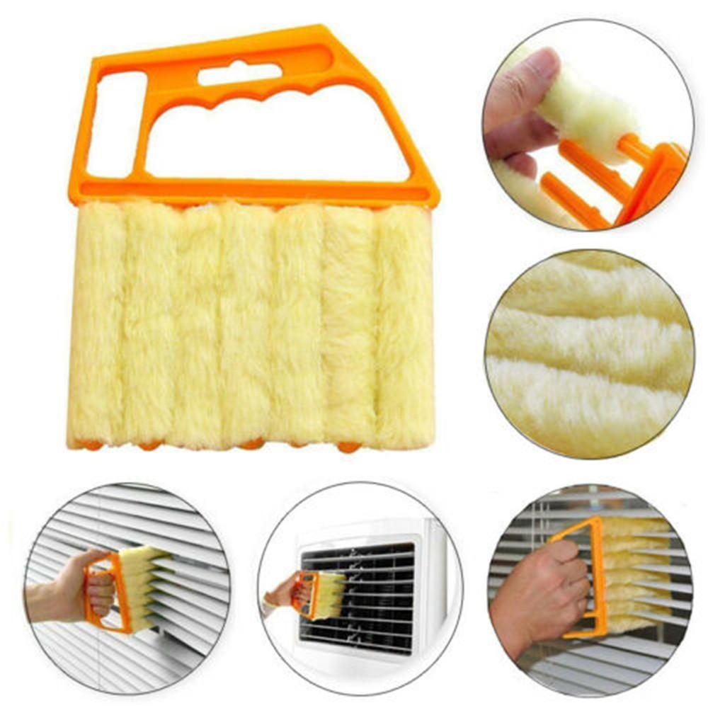 7Slat Venetian Blind Cleaner Brush Duster Blinds Easy Cleaning Tool US mRMah