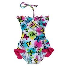 BAOHULU girls 2016 one piece swimwear bikini meisje children's swimwear girls bathing suits baby swimming suit toddler sz3-12y