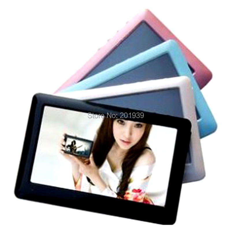 """Real memory 8GB MP4 MP5 Player T13 4.3"""" HD Touch Screen Mp3 songs Video TV Out FM Radio E-book Game 60pcs free by DHL(China (Mainland))"""