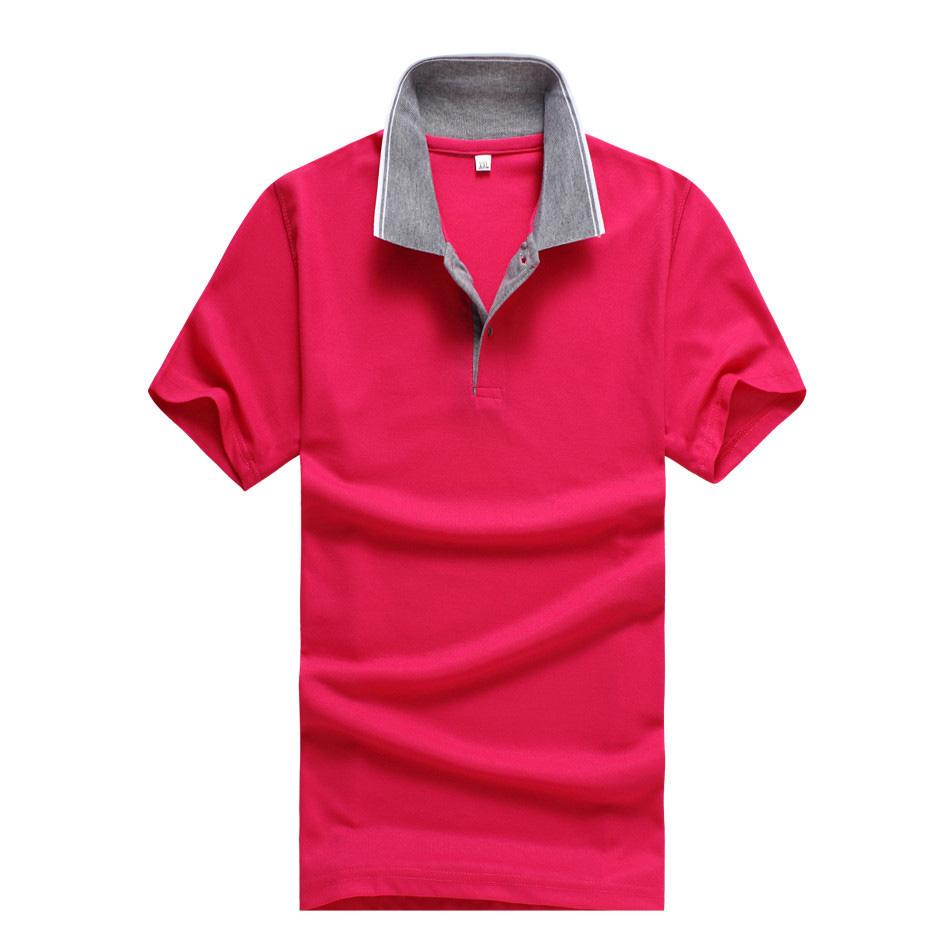 New 2016 Men's Polo Shirt For Men Designer Polos Men Cotton Short Sleeve Shirt Sports Jerseys Golf Tennis Polo Shirt XXXL(China (Mainland))