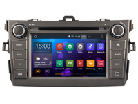 Android 4.4  Car DVD player Radio Stereo GPS  for  Toyota Corolla 2007 - 2012 /   3G WIFI OBD DVR / 1024*600 HD screen