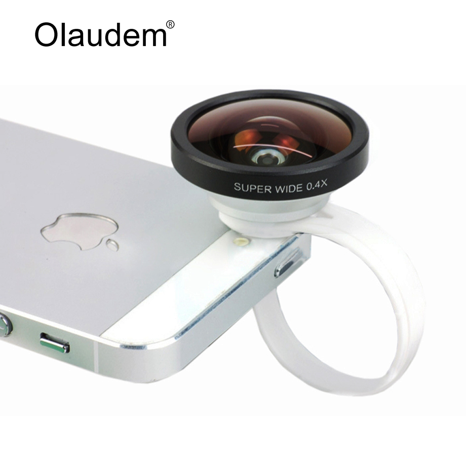 New 2016 Universal Super Wide Angle Lens iPhone 5 Mobile Phone Lens F40