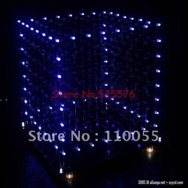 3D8S свтеодиодный фонарик куб