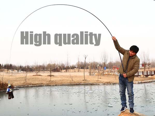 2.7M 7.2m Spinning plug Salmo sea fishing bass lure rods blanks poles Fly Rod telescopic with rings carp rod wood Fishing tackle(China (Mainland))